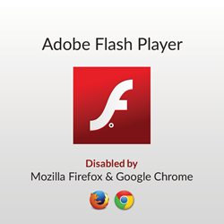 Chrome, Firefox Disable Adobe Flash Over Security Concerns :