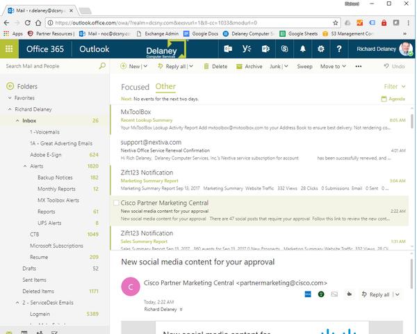 New Microsoft Outlook Webmail Enhancements