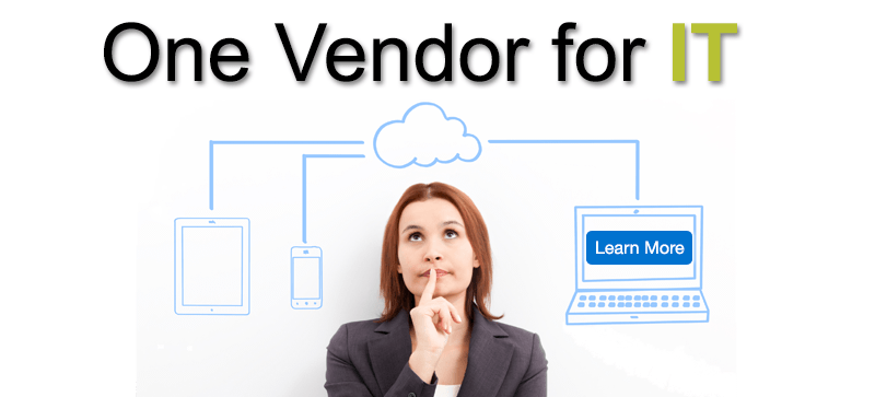See how having One Vendor for IT can help you control your <b>IT</b> costs and improve productivity