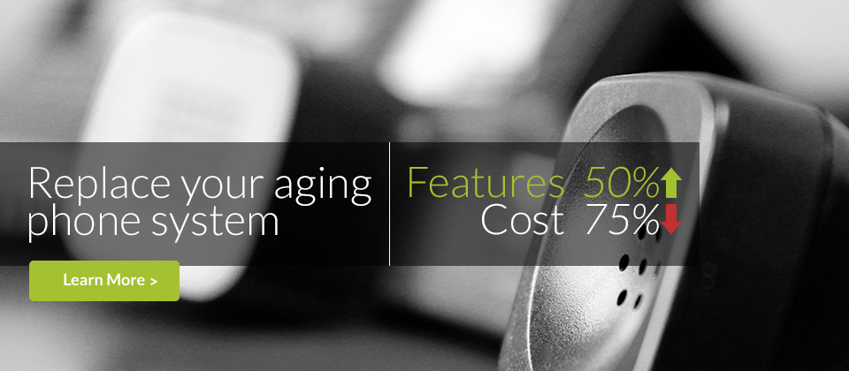 Replace your aging phone system with a superior VoIP system for small business