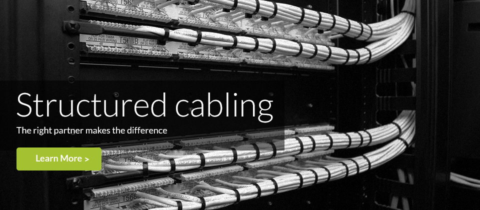 Structured Cabling: Delaney Computer Services structured cabling service