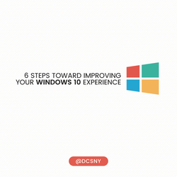 Improve your Windows 10 Experience
