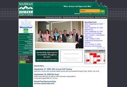 Mahwah Regional Chamber of Commerce web site screen shot