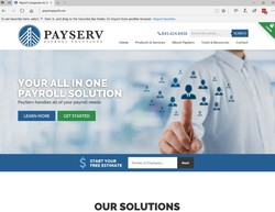 PayServ Payroll Website Launch
